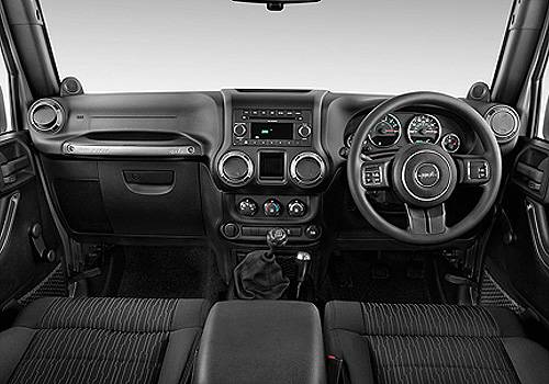 Jeep Wrangler Dashboard Interior Picture