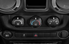 Jeep Wrangler Front AC Controls Picture