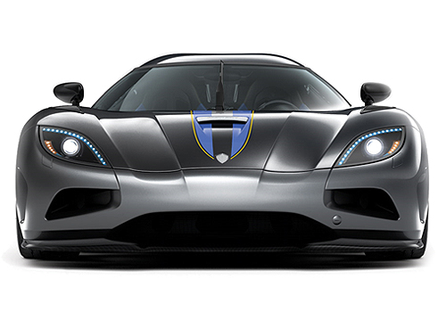 Koenigsegg Agera Front View Exterior Picture