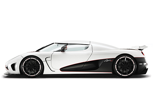 Koenigsegg Agera Front Angle Side View Exterior Picture