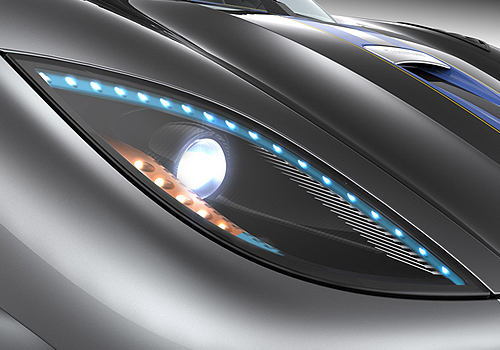 Koenigsegg Agera Headlight Exterior Picture
