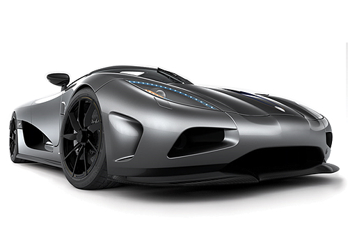 Koenigsegg Agera Front Low Angle View Exterior Picture