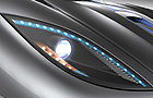 Koenigsegg Agera Headlight Picture