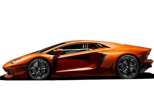 Lamborghini Aventador Front Angle Side View Exterior Picture