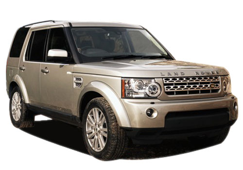 Land Rover Discovery Front Low Angle View Picture