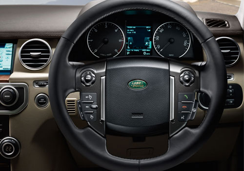 Land Rover Discovery 4 Steering Wheel Interior Picture