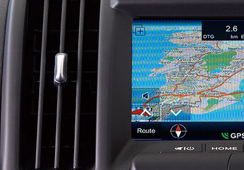 Land Rover Freelander 2 Front AC Controls Interior Picture