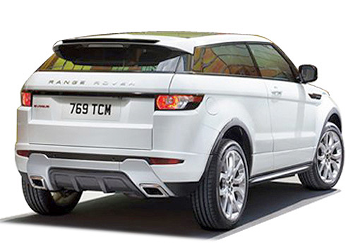 Land Rover Range Rover Evoque Rear Angle View Exterior Picture