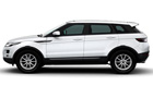 Land Rover Range Rover Evoque Front Angle Side View Picture