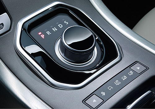 Land Rover Range Rover Evoque Gear Knob Interior Picture