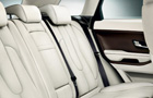 Land Rover Range Rover Evoque Rear Seats Picture