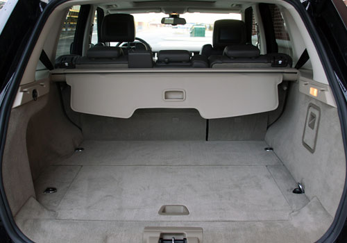 Land Rover Range Rover Sport Boot Open Interior Picture
