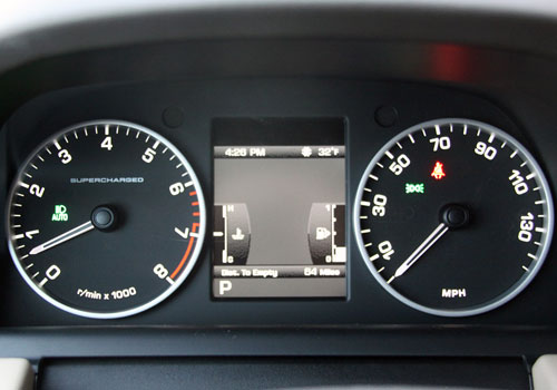 Land Rover Range Rover Sport Tachometer Interior Picture