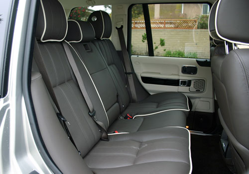 Land Rover Range Rover Rear Seat Picture