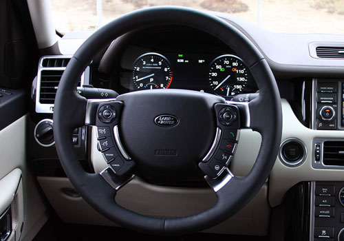 Land Rover Range Rover Steering Wheel Interior Picture
