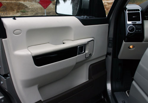 Land Rover Range Rover Inside Driver Side Door Open Picture