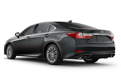 Lexus ES Cross Side View Exterior Picture