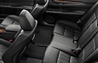 Lexus ES Rear Seats Picture