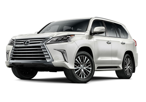 Lexus LX Front Angle View Exterior Picture