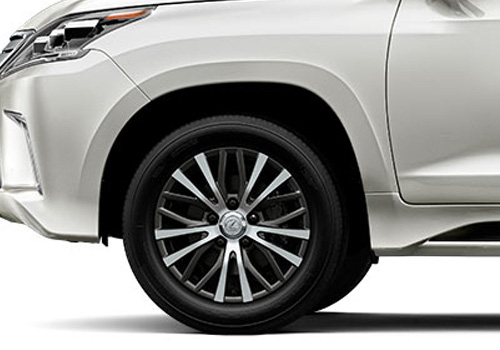 Lexus LX Wheel and Tyre Exterior Picture