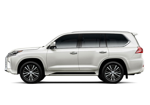 Lexus LX Front Angle Side View Exterior Picture