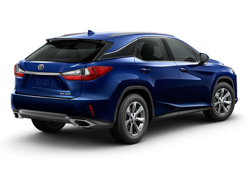 Lexus RX Rear Angle View Exterior Picture