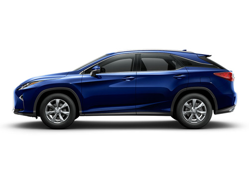 Lexus RX Front Angle Side View Exterior Picture