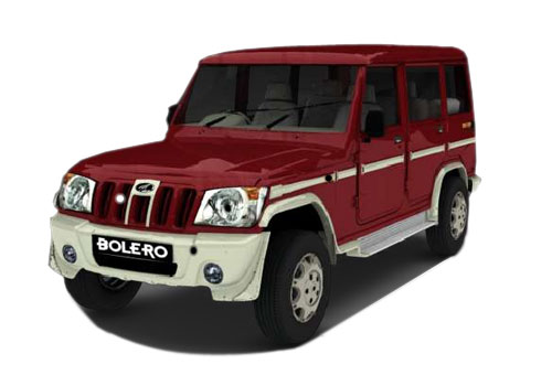 Mahindra Bolero Front High Angle View Exterior Picture