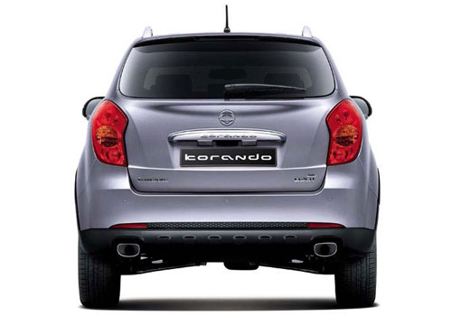 Mahindra Korando Rear View Picture