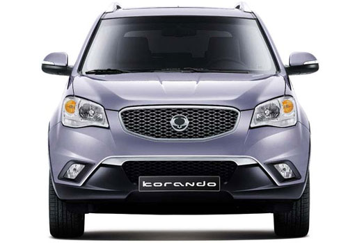 Mahindra Korando Front View Exterior Picture