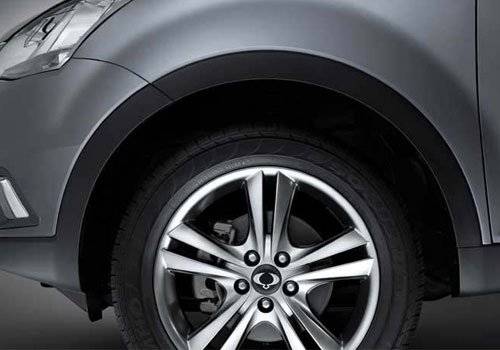 Mahindra Korando Wheel and Tyre Exterior Picture