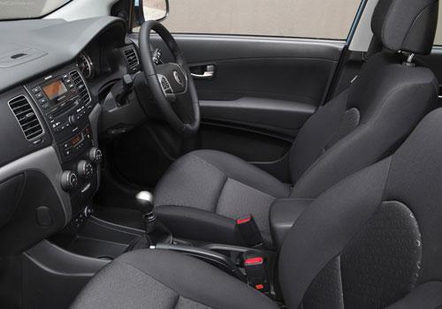 Mahindra Korando Front Seats Picture