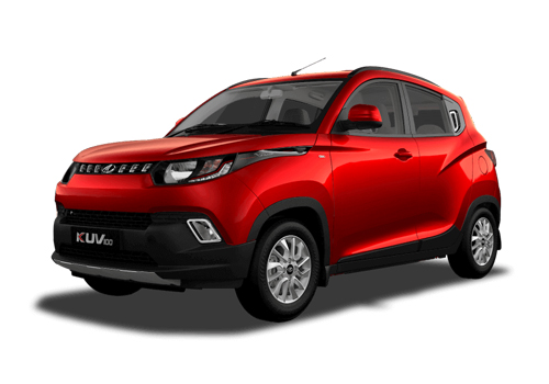 Mahindra KUV100 Front Angle View Exterior Picture