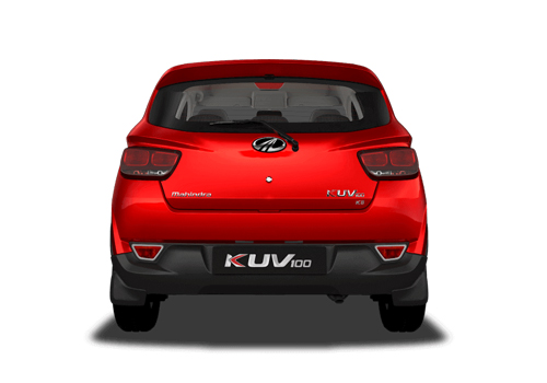 Mahindra KUV100 Rear View Exterior Picture