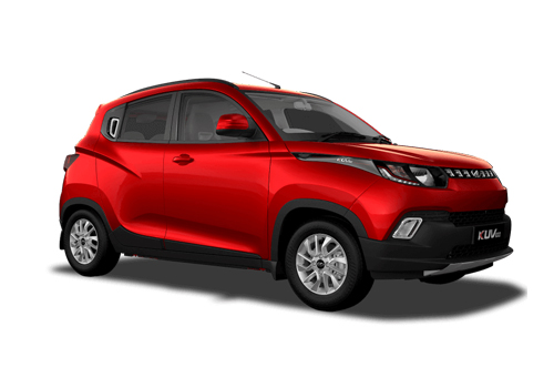Mahindra KUV100 Front Side View Exterior Picture