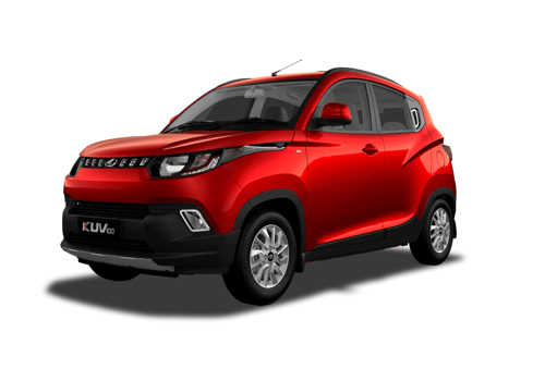 Mahindra KUV100 Front Angle Low Wide Exterior Picture