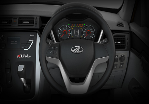 Mahindra KUV100 Steering Wheel Interior Picture