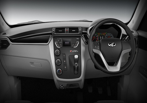 Mahindra KUV100 Central Control Interior Picture