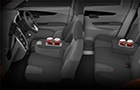 Mahindra KUV100 Front Seats Picture