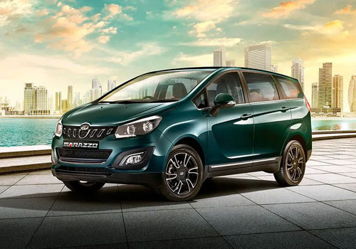 Mahindra Marazzo Front Angle View Exterior Picture