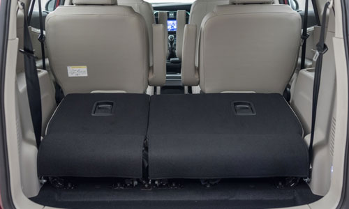 Mahindra Marazzo Boot Open Interior Picture