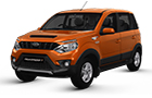 Mahindra NuvoSport Rust Orange