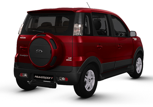 Mahindra NuvoSport Rear Angle View Exterior Picture