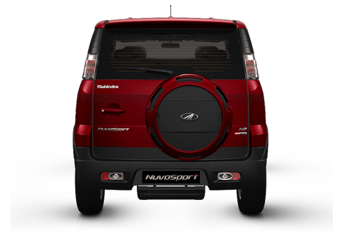 Mahindra NuvoSport Rear View Exterior Picture