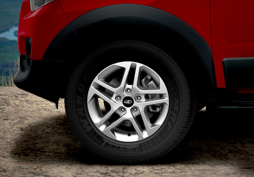 Mahindra NuvoSport Wheel and Tyre Exterior Picture