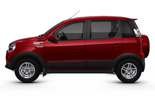 Mahindra NuvoSport Front Angle Side View Exterior Picture