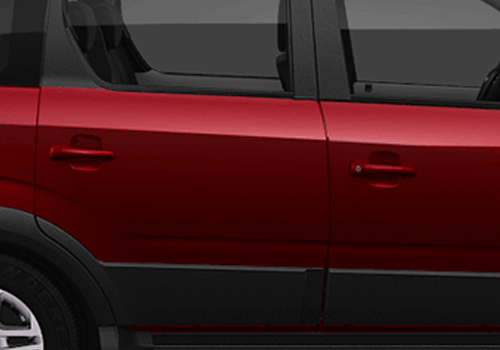 Mahindra NuvoSport Door Handle Exterior Picture