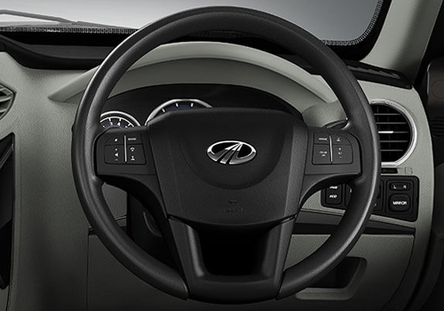 Mahindra NuvoSport Steering Wheel Interior Picture