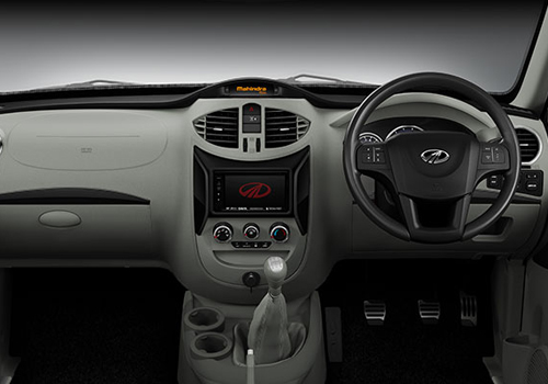 Mahindra NuvoSport Central Control Interior Picture