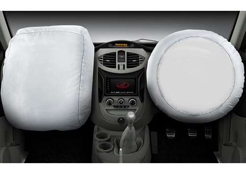 Mahindra NuvoSport Airbag Interior Picture